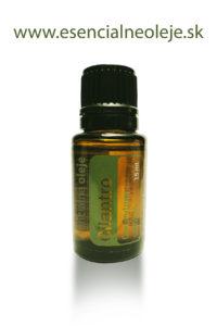 obr. cilantrovy esencialny olej