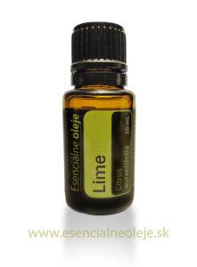 obr. limetkový esenciálny olej