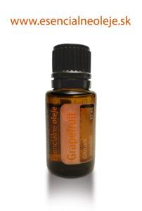 obr. grapefrutový eterický olej