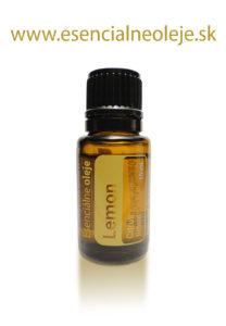 obr. citronový esenciálny olej