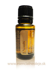 obr. myrhový esenciálny olej