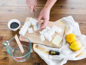 obr. priprava mydlove hmoty