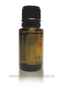 Tymiánový esenciálny olej